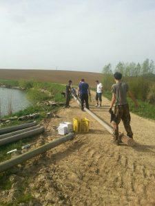 Priprema za izlov jezera Jelić 2016 (1)