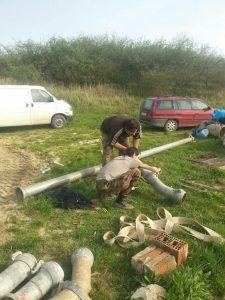 Priprema za izlov jezera Jelić 2016 (6)